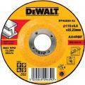DeWalt DT42220-XJ afbraamschijf metaal 115x6x22,2 mm verzonken centrum
