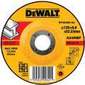 DeWalt DT42320-XJ afbraamschijf metaal 125x6x22,2 mm verzonken centrum