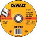 DeWalt DT42520-XJ afbraamschijf metaal 180x6x22,2 mm verzonken centrum