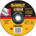 DeWalt DT43520-XJ afbraamschijf Extreme metaal 180x6x22,2 mm verzonken centrum