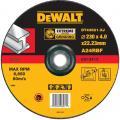 DeWalt DT43621-XJ afbraamschijf Extreme metaal 230x4x22,2 mm verzonken centrum
