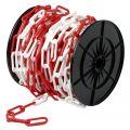 Dulimex DX 1500-06R kunststof ketting rol 25 m 6 mm rood-wit 9.830150006