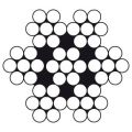 Dulimex DX STR77042010-B staalkabel 1 mm 7x7 RVS 316 rol 100 m 5886.STR.770.42010-B