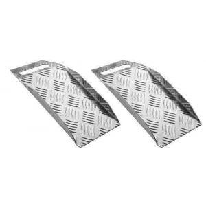 SecuCare drempelhulp aluminium Portable breedte 15x30 cm hoogte 0-10 cm set 2 stuks - A50750239 - afbeelding 1