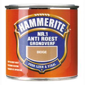 Hammerite grondverf anti roest mat beige 500 ml 500 AR