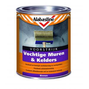 Alabastine voorstrijk vochtige muren en kelders 1 L 1 VVMK