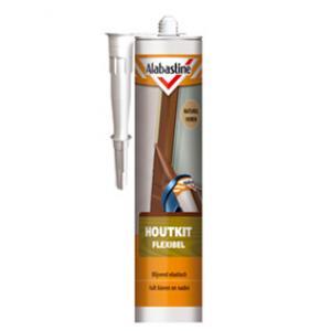 Alabastine flexibele houtkit naturel 300 ml HF300-NATUREL