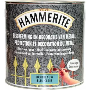 Hammerite metaallak hamerslag donkergroen H138 2,5 L