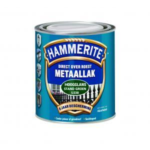 Hammerite metaallak hoogglans rood S040 750 ml 750 HGL RD
