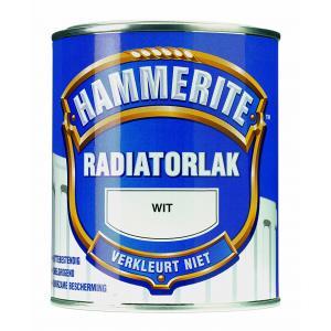 Hammerite radiatorlak hoogglans wit 750 ml 750WIT
