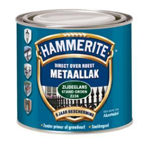 Hammerite metaallak zijdeglans wit Z210 250 ml 250 ZG WIT