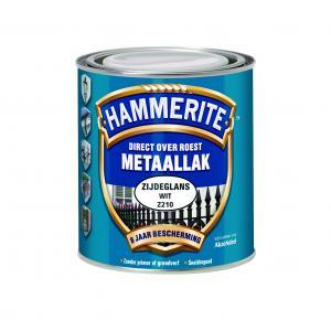 Hammerite metaallak zijdeglans zwart Z260 750 ml 750 ZG ZW