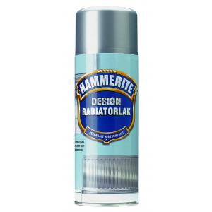 Hammerite radiatorlak design silver metallic 400 ml DE400SM