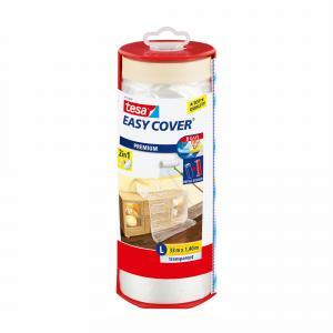 Tesa Easy Cover afdekfolie met afplakband L 33 m x 1,4 m 59179