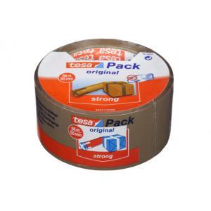 Tesa Tesapack Strong verpakkingstape bruin 66 m x 50 mm BR-5044