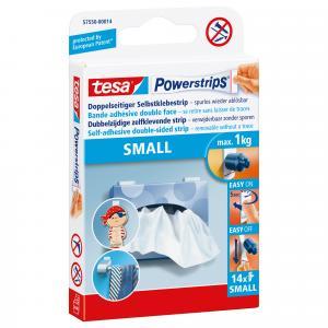 Tesa Powerstrips small 14 stuks 57550-14