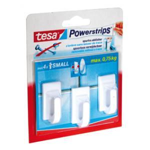 Tesa Powerstrips small classic wit 3 57530-13