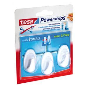 Tesa Powerstrips plakhaak Mini H.Ov.W 57533
