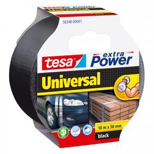 Tesa Extra Power Universal tape zwart 10 m x 50 mm 56348-ZW