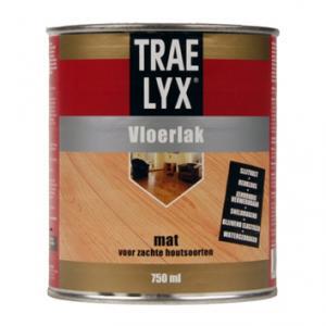 TraeLyx vloerlak mat blank 2,5 L