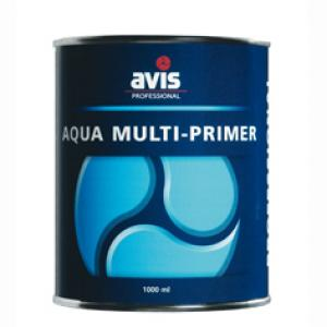 Avis Aqua multiprimer grondverf grijs 1 L
