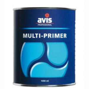 Avis multiprimer grondverf zwart 1 L
