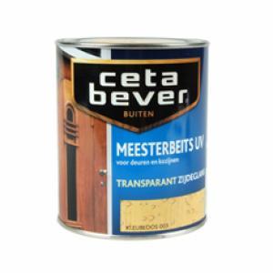 CetaBever Meesterbeits UV transparant satin grenen 77 750 ml