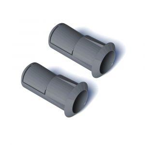 SecuBar Snap barriere stang set zelfborgende hulzen in de dag grijs compositet 2 stuks - A50750109 - afbeelding 1