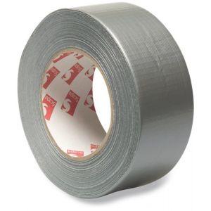 Bosta Duct tape PVC UV-gestabiliseerd zilver 50 m 50 mm - Y51050229 - afbeelding 1
