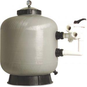 Mega zandfilter glasvezel versterkt polyester 50 mm-1 1/2 inch metrisch-imperial lijmmof 2,5 bar grijs type S450R - Y51061018 - afbeelding 1
