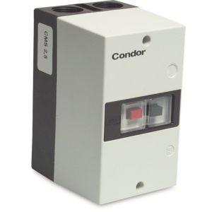 Condor motorbeveiligingsschakelaar kunststof 1,5 A-2,5 AA 230-400 V type CMS 2.5 - Y51060884 - afbeelding 1