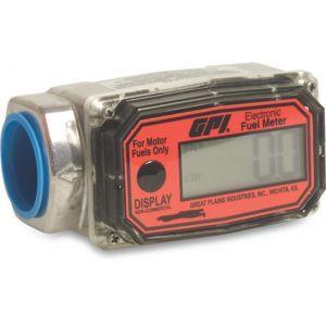 Bosta elektronische doorstroommeter aluminium 1 inch binnendraad 20 bar type GPI-EX voor brandstof - Y51060978 - afbeelding 1