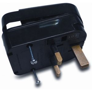 Bosta converter UK-DIN stekker type vaste aansluiting 10 A zekering - Y51060903 - afbeelding 1