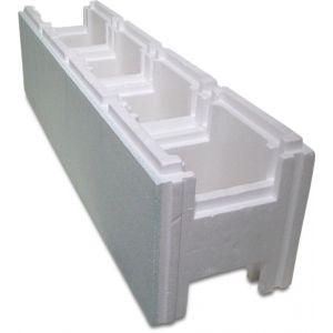 Mega zwembad snelbouwblok EPS40-EPS80 250 mm wit 1 m - Y51050225 - afbeelding 1