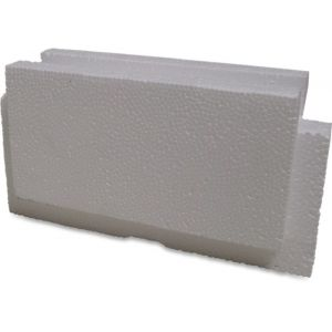 Mega eindstuk voor zwembad snelbouwblok EPS25 500 mm wit - Y51050223 - afbeelding 1