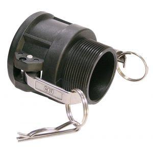 Baggerman Kamlok buiskoppeling PP Coupler type 633-B vrouwelijk 1/2 inch buitendraad - A50051634 - afbeelding 1