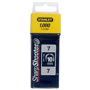 Stanley krammen 10 mm type 7 1000 stuks - A51020009 - afbeelding 1