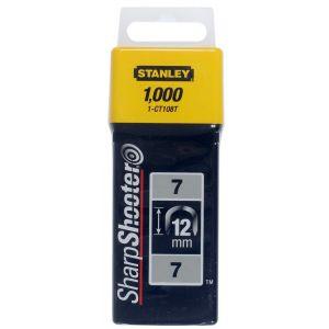 Stanley krammen 12 mm type 7 1000 stuks - A51020010 - afbeelding 1