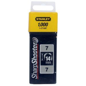Stanley krammen 14 mm type 7 1000 stuks - A51020011 - afbeelding 1