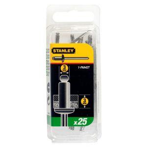 Stanley popnagel 3x3 mm 25 stuks - Y51020000 - afbeelding 1
