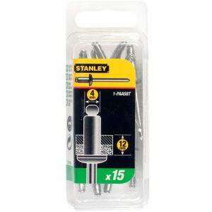 Stanley popnagel 4x12 mm 15 stuks - Y51020005 - afbeelding 1