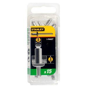 Stanley popnagel 5x3 mm 15 stuks - Y51020006 - afbeelding 1