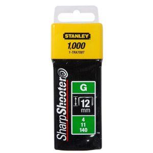 Stanley nieten 12 mm 1/2 inch type G 1000 stuks - Y51020036 - afbeelding 1