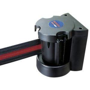 Orbis afzetband met wandhouder L 3 m ABS-kunststof HxD 130x110 mm band rood-wit gestreept - Z10081584 - afbeelding 1