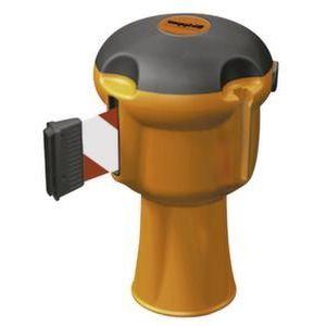 Orbis opsteekbare bandhouder voor conus kunststof oranje band L 9 m rood-wit - Z10081027 - afbeelding 1