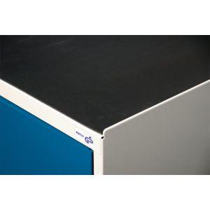 Orbis rubberen ribloper BxD 500x500 mm zwart - Z10070234 - afbeelding 1