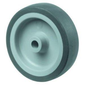 Orbis wiel draagvermogen 70 kg boorgat DxB 100x24 mm thermoplast spoorvrij blauwgrijs kunststof velg - Z10003002 - afbeelding 1