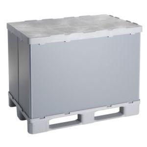 Orbis vouwbare palletbox PP-PE HxLxB 940x1200x800 mm 675 L 3 sledepoten - Z10012968 - afbeelding 1