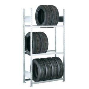 Orbis bandenstelling aanbouwveld HxBxD 2000x1506x400 mm vaklast 150 kg 3 etages - Z10007429 - afbeelding 1