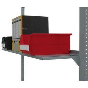 Orbis recht aflegblad voor werktafel inclusief 2 steunconsoles LxD 1000x300 mm - Z10086302 - afbeelding 1
